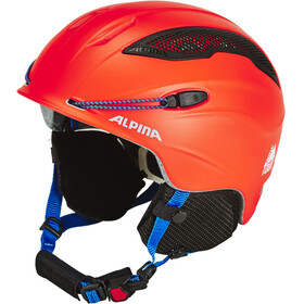Alpina Snow Tour - Casque - rouge/bleu